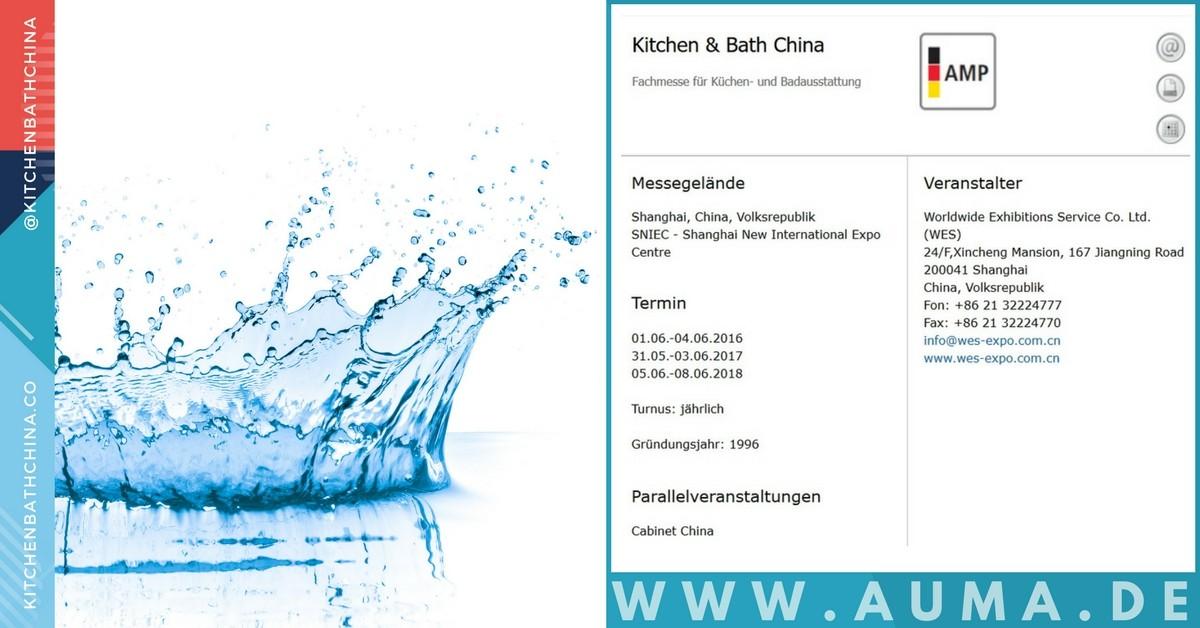 Kbc 2018 Kitchen And Bath China Shanghai